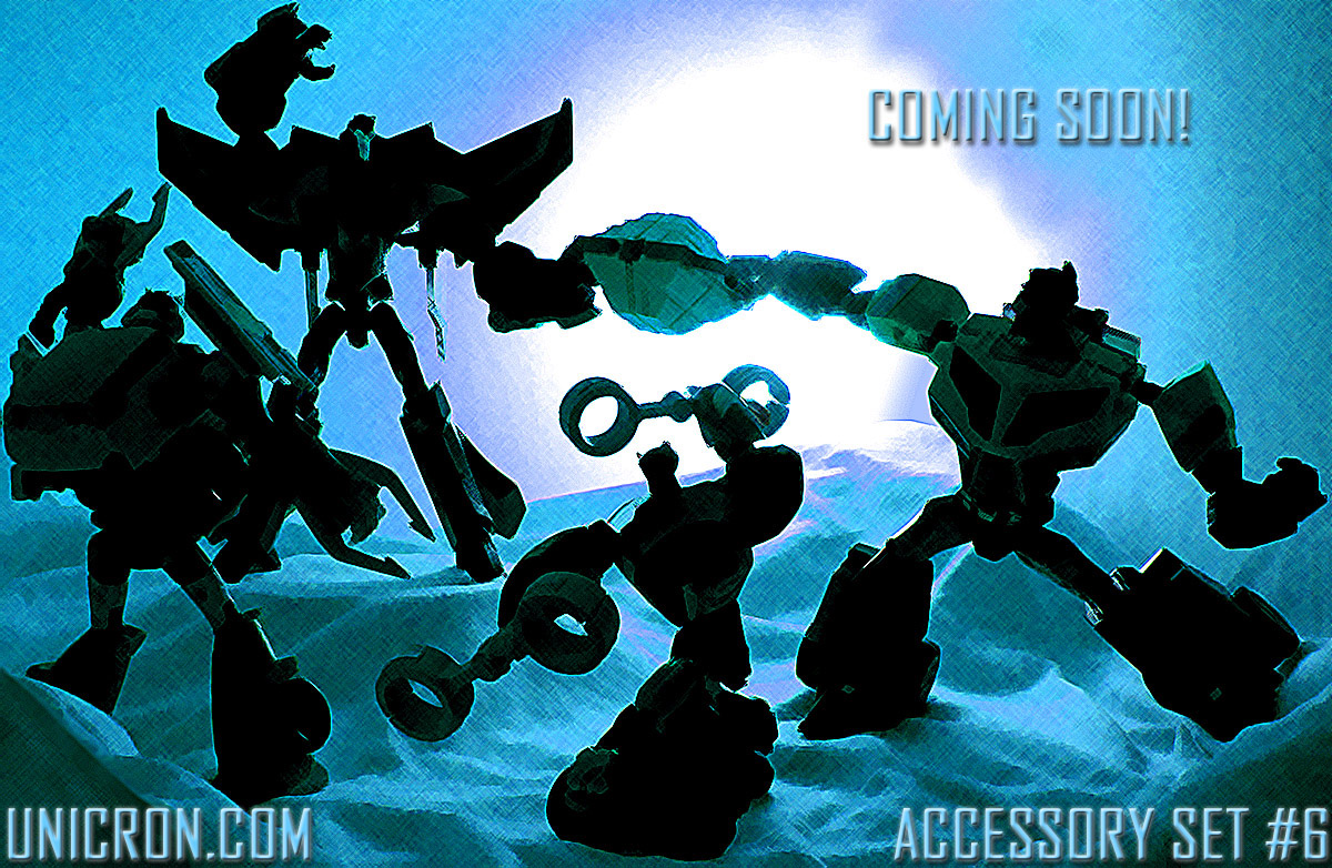 Accessory pack #6 from Unicron com - Transformers