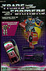 Transformers Generation 1 Dead End (Stunticon) Menasor limb