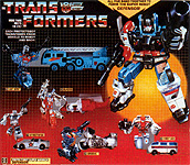 Transformers Generation 1 Defensor (Giftset)