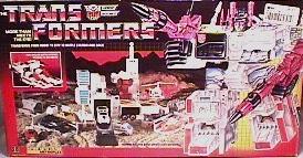 Transformers Generation 1 Metroplex w/ Scamper & Six-Gun