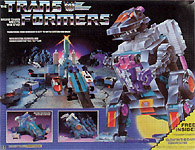 Transformers Generation 1 Trypticon with Full-Tilt