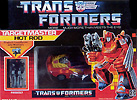 Transformers Generation 1 Hot Rod (Targetmaster) with Firebolt