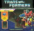 Transformers Generation 1 Misfire with Aimless