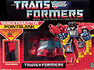 Transformers Generation 1 Pointblank with Peacemaker
