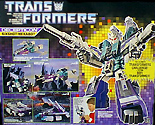 Transformers Generation 1 Sixshot
