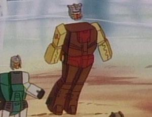 Headmaster Autobot Chromedome With Stylor