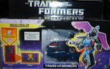 Transformers Generation 1 Doubledealer (Powermaster) with Knok and Skar