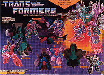 Transformers Generation 1 Piranacon (Giftset)