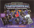 Transformers Generation 1 Micromaster Air Strike Patrol (Nightflight, Storm Cloud, Tailwind, Whisper)