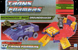 Transformers Generation 1 Groundshaker (Micromaster)