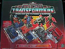 Transformers Generation 1 Micromaster Off Road Patrol (Powertrain, Highjump, Mudslinger, Tote)