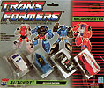 Transformers Generation 1 Micromaster Rescue Patrol (Fixit, Red Hot, Seawatch, Stakeout)
