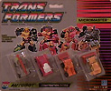Transformers Generation 1 Micromaster Construction Patrol (Crumble, Groundpounder, Neutro, Takedown)