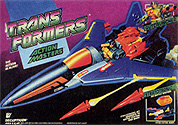 Transformers Generation 1 Gutcruncher (Action Master) with Stratotronic Jet