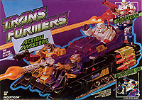Transformers Generation 1 Megatron (Action Master) with Neutro-Fusion Tank