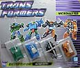 Transformers Generation 1 Micromaster Military Patrol (Bombshock, Dropshot, Growl, Tracer)