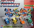 Transformers Generation 1 Micromaster Monster Trucks Patrol (Big Hauler, Heavy Tread, Hydraulic, Slow Poke)