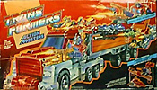 Transformers Generation 1 Optimus Prime (Action Master) with Armored Convoy