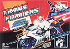 Transformers Generation 1 Prowl (Action Master) with Turbo Cycle