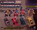 Transformers Generation 1 Micromaster Race Track Patrol (Barricade, Ground Hog, Motorhead, Roller Force)