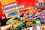 Transformers Generation 1 Sprocket (Action Master) with Attack Cruiser