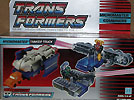 Transformers Generation 1 Micromaster Tanker Truck (combiner transport - Pipeline & Gusher)