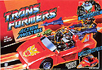 Transformers Generation 1 Wheeljack (Action Master) with Turbo Racer