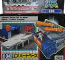 Transformers Zone (Takara G1) Airport Base (w/ Overair)