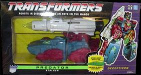 Transformers Generation 1 Stalker (Predator)