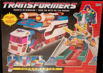 Transformers Generation 1 Thunderclash (Turbomaster)