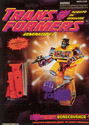 Transformers Generation 2 Bonecrusher (orange G2) - Devastator limb