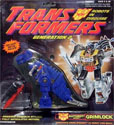 Transformers Generation 2 Grimlock (blue G2)