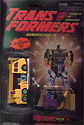 Transformers Generation 2 Hook (yellow G2) - Devastator upper torso