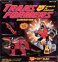 Transformers Generation 2 Slag (Red G2)