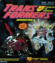 Transformers Generation 2 Snarl (red G2)