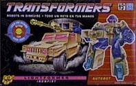 Transformers Generation 2 Ironfist