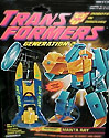Transformers Generation 2 Manta Ray