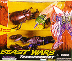 Transformers Beast Wars Tripredacus (Ram Horn, Sea Clamp, Cicadacon)