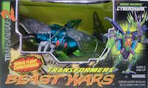Beast Wars Cybershark (Mega, Transmetal)