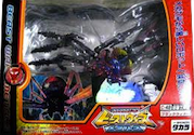 Transformers Beast Wars Metals (Takara) Blackwidow (Metals Blackarachnia)