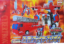 Transformers Car Robots (Takara) Super Fire Convoy (Black)