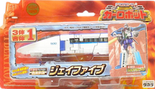 Transformers Car Robots (Takara) C-012 J-Five