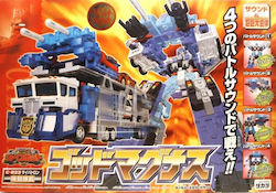 Transformers Car Robots (Takara) God Magnus (black)
