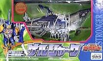 Transformers Car Robots (Takara) D-005 Gelshark