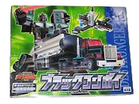 Transformers Car Robots (Takara) D-012 Black Convoy