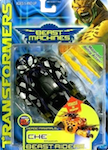 Transformers Beast Machines Che (black recolor)