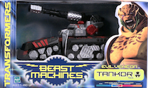 Transformers Beast Machines Tankor