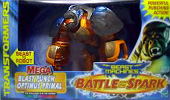 Transformers Beast Machines Blast Punch Optimus Primal (Mega)