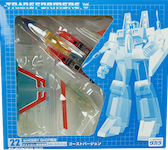 Takara - Collector's Edition (G1) Starscream (e-Hobby, G1 ghost)