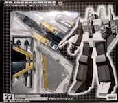 Takara - Collector's Edition (G1) Starscream (e-Hobby, G1 black)